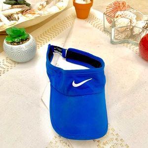 Blue Nike visor